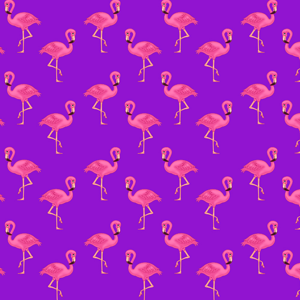 Unique High Quality Pink Flamingos//Grey Background Gift Wrap- -GP188 A3 Size